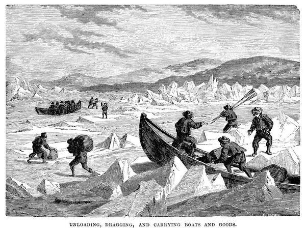 Elizabethan Wall Art - Digital Art - Arctic Explorers by Duncan1890