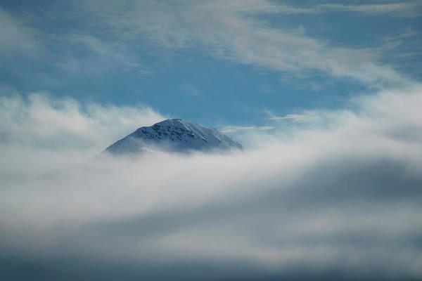 Photograph - Arctic Mountainpeak by Kai Mueller