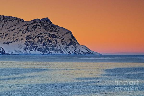 Photograph - Arctic Sunset In Norway by Martyn Arnold