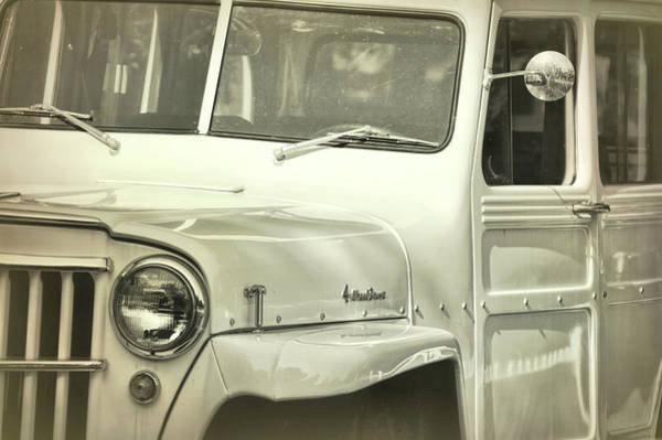 Photograph - Arctic White Jeep by Jamart Photography