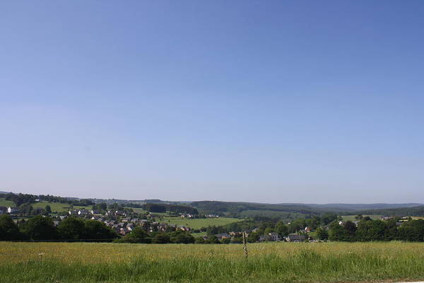 Belgium Photograph - Ardennes Panorama by Magnus Franklin