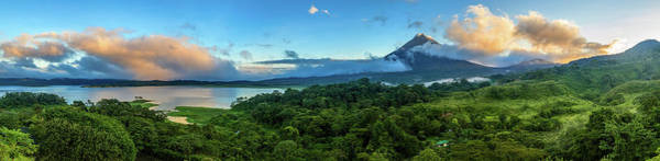 Wall Art - Photograph - Arenal Volcano And Lake Arenal by Alexey Stiop