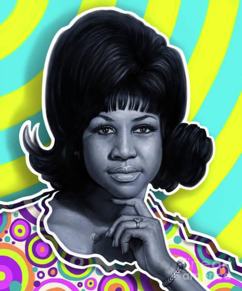 Aretha - Queen Of Soul Art Print