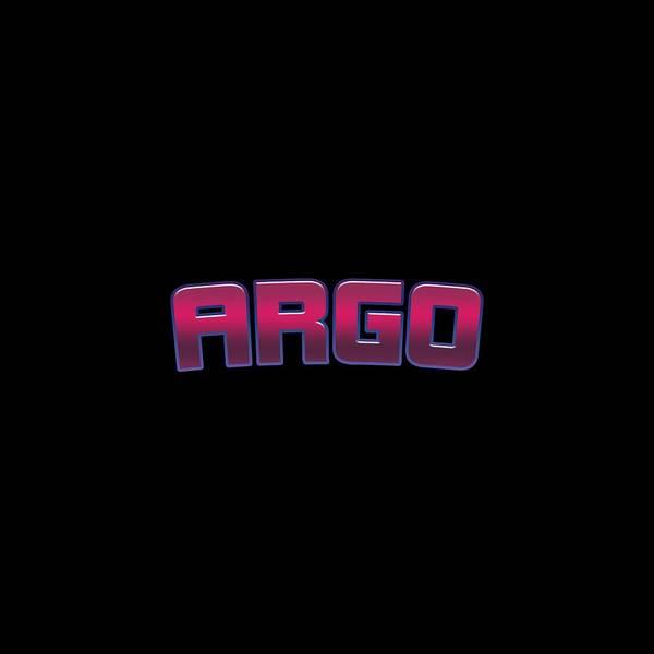 Wall Art - Digital Art - Argo by TintoDesigns