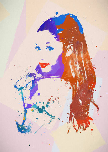 Free Dive Wall Art - Painting - Ariana by Dan Sproul