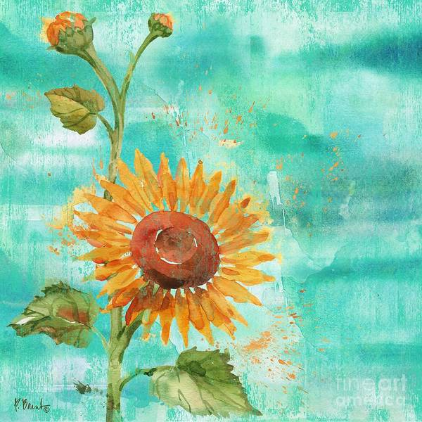Wall Art - Painting - Arianna Sunflowers I by Paul Brent