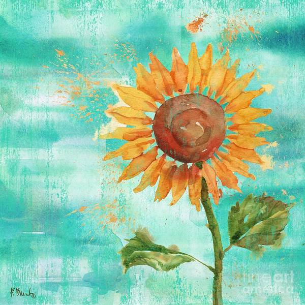 Wall Art - Painting - Arianna Sunflowers IIi by Paul Brent