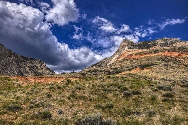 Photograph - Arid Bighorn Mountains, Wyoming by Chance Kafka