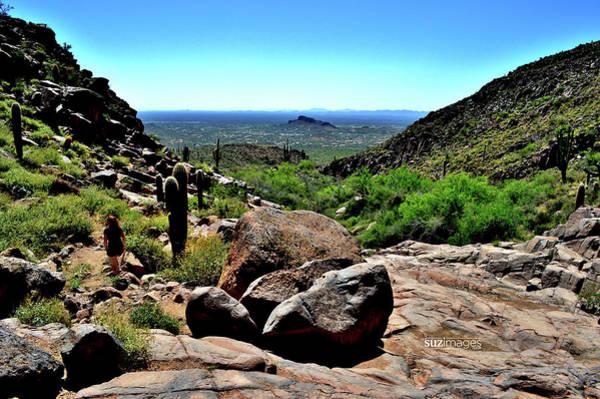 Photograph - Arizona Desert Hiking by Susie Loechler