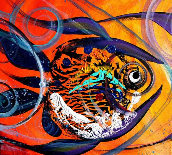 Painting - Arizona Fish by J Vincent Scarpace