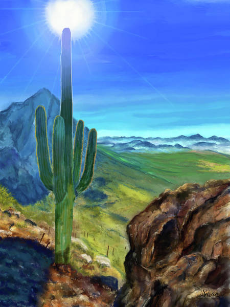 Digital Art - Arizona Heat by Susan Kinney