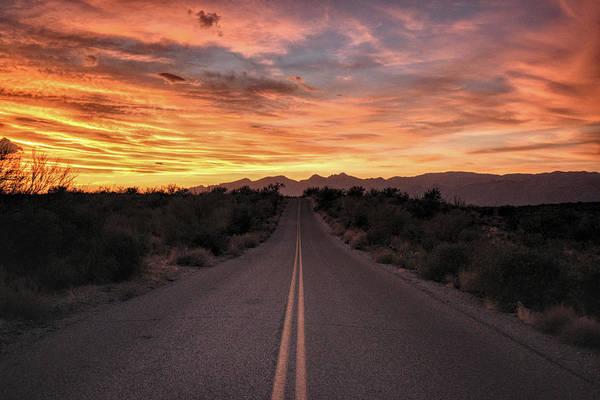 Photograph - Arizona Highways Sunset by Chance Kafka