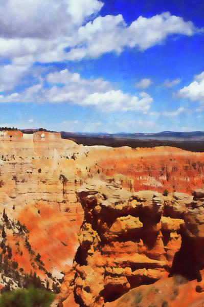 Painting - Arizona Landscape - 06 by Andrea Mazzocchetti