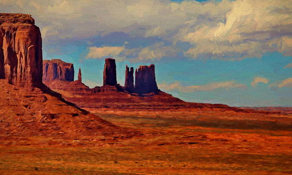 Painting - Arizona Monument Valley by Russ Harris