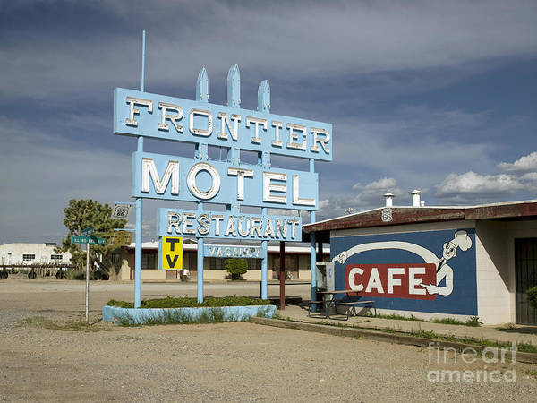 Photograph - Arizona Motel, 2009 by Carol Highsmith