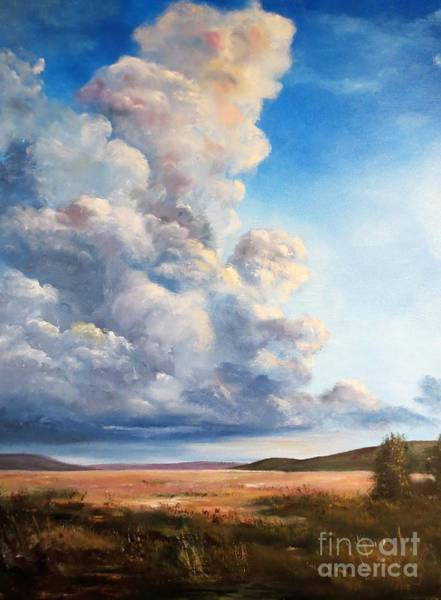 Wall Art - Painting - Arizona Sky by Lee Piper