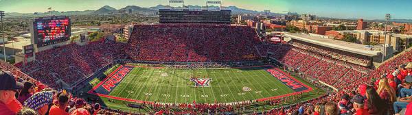 Photograph - Arizona Stadium Panorama by Chance Kafka