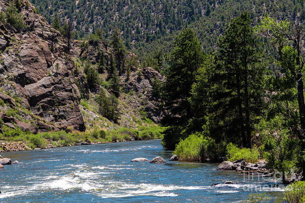 Photograph - Arkansas River In Brown's Canyon Natinoal Monument by Steve Krull