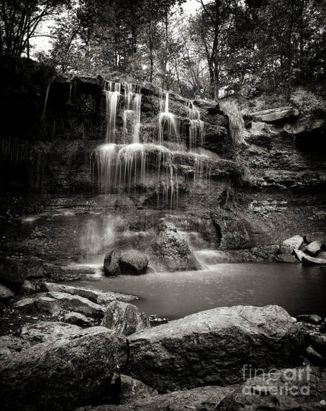 Photograph - Rock Glen Falls by RicharD Murphy
