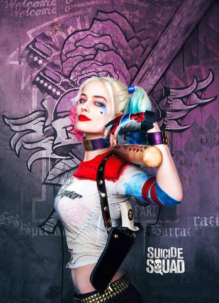 Robin Digital Art - Arlequina by Geek N Rock