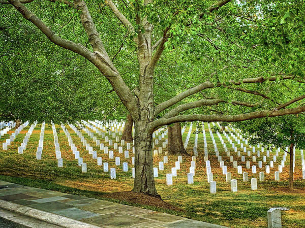 Photograph - Arlington Cemetery 2 by Jill Love