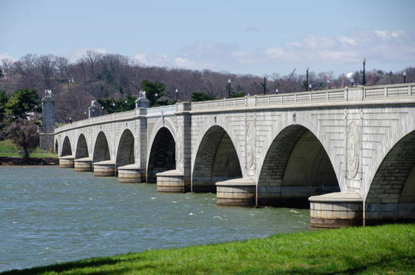 Wall Art - Photograph - Arlington Memorial  Bridge - Washington Dc by Bill Cannon