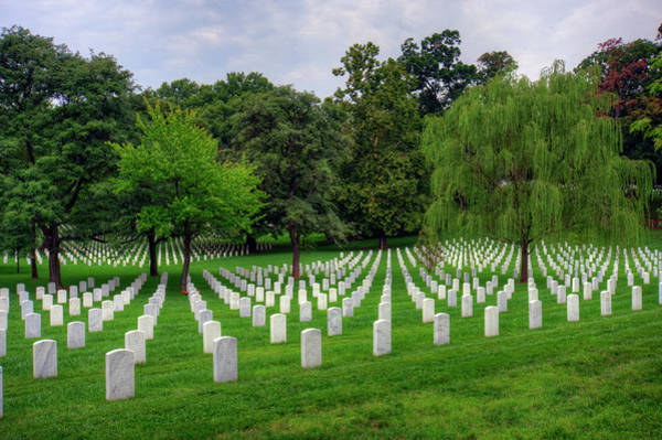 Department Of The Army Photograph - Arlington National Cemetery by Craig Fildes