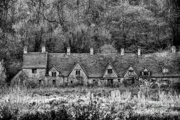 English Countryside Photograph - Arlington Row Monochrome by Tim Gainey