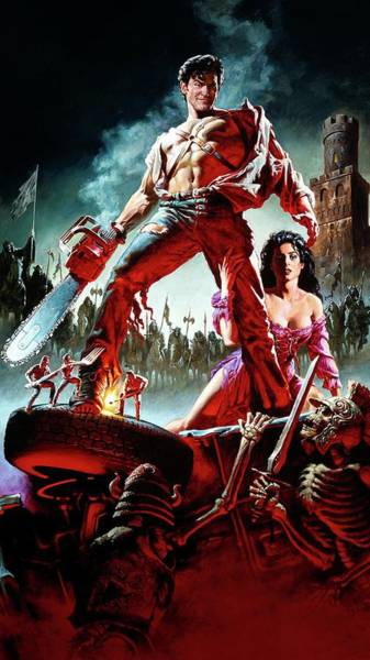 Wall Art - Digital Art - Army Of Darkness 1992 by Geek N Rock
