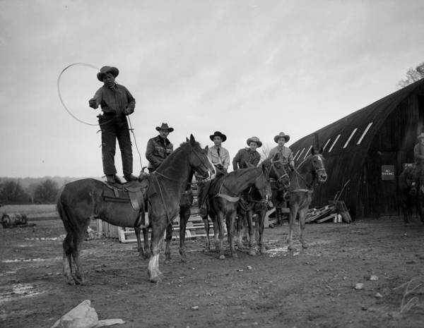 Canadian Culture Photograph - Army Show by Harry Todd