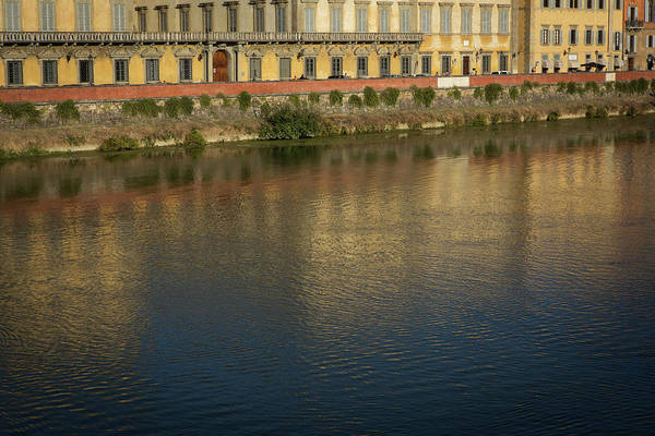 Mfa Wall Art - Photograph - Arno River Firenze  by Iris Richardson