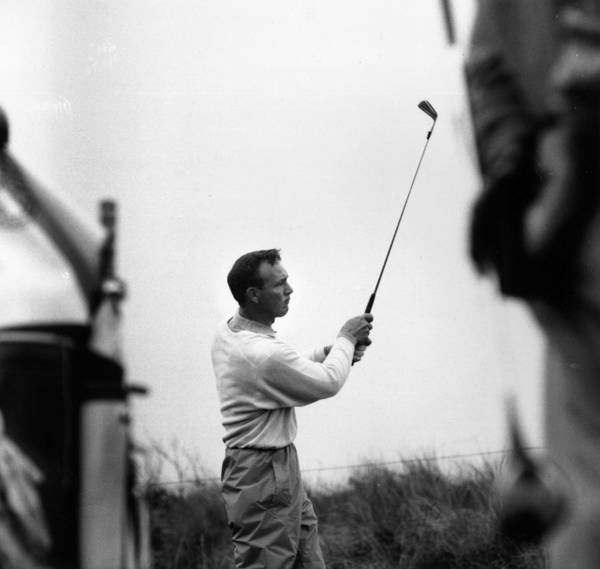 Photograph - Arnold Palmer by Evening Standard
