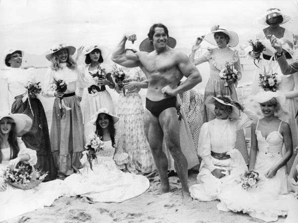 Cannes Photograph - Arnold Schwarzenegger by Keystone