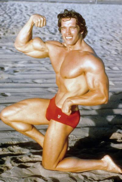 Wall Art - Photograph - Arnold Schwarzenegger by Michael Ochs Archives