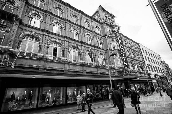 Wall Art - Photograph - Arnotts Department Store Henry St Dublin Republic Of Ireland Europe by Joe Fox