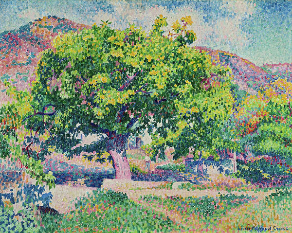 Wall Art - Painting - Around My House, 1906 by Henri Edmond Cross
