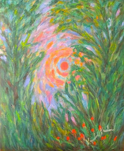 Painting - Around The Sun by Kendall Kessler