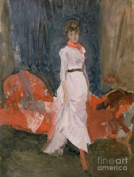 Wall Art - Painting - Arrangement In Pink, Red And Purple by James Abbott McNeill Whistler