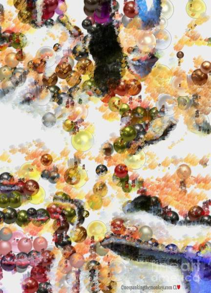 Painting - Array Pearlesqued In Paint by Catherine Lott