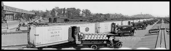 Wall Art - Photograph - Arrival Of 11 Car Load Of Pennsylvania by Fred Schutz Collection