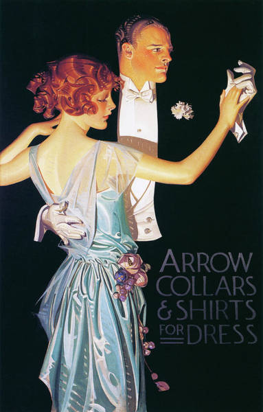 Wall Art - Painting - Arrow Collars And Shirts For Dress - Digital Remastered Edition by Joseph Christian Leyendecker