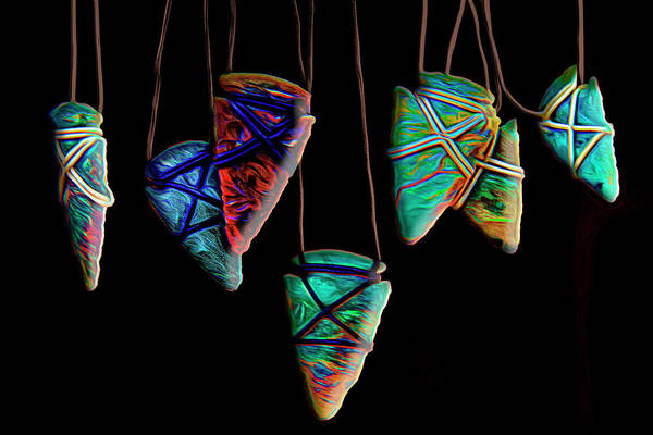 Photograph - Arrowheads by Paul Wear
