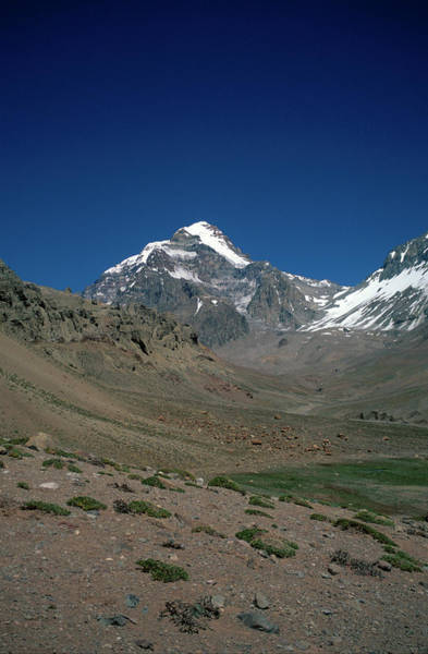 Wall Art - Photograph - Arroyo Relinchos Valley, Aconcagua, Polish Glacier Route, Argentina - Arge100 00327 by Kevin Russell