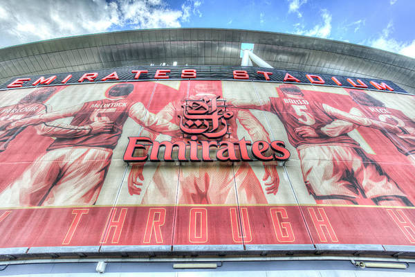 Wall Art - Photograph - Arsenal Fc Stadium London by David Pyatt