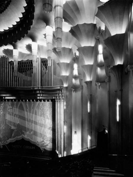 Photograph - Art Deco Cinema by Sasha