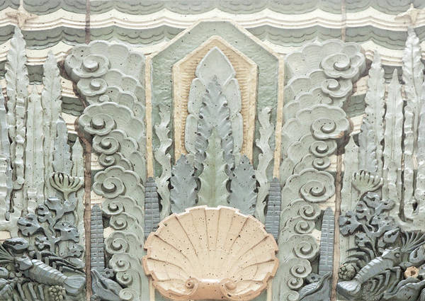 Photograph - Art Deco Detail by Theresa Tahara