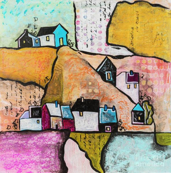 Mixed Media - Art Land 5 by Ariadna De Raadt