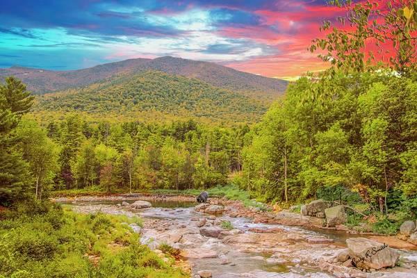 Adirondack Mountains Digital Art - Art Landscape,adirondack Park.                                by Rusty R Smith