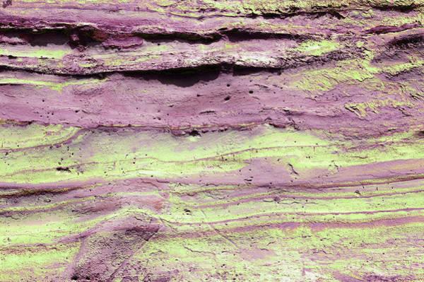 Photograph - Art Print Cliff 14 by Harry Gruenert