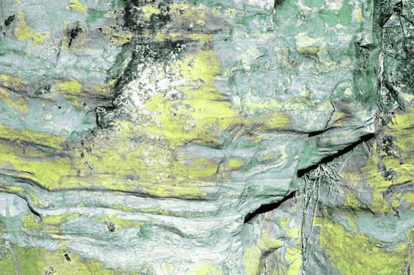 Photograph - Art Print Cliff 21 by Harry Gruenert